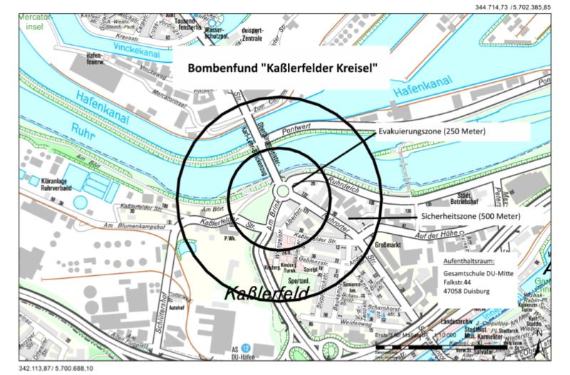 Bombenfund Mönchengladbach